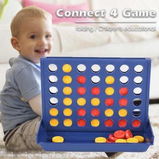 Kết nối 4 Trò chơi Cổ điển Master Có thể gập lại Trẻ em Giải trí Câu đố Đồ chơi Quà tặng Ban Trò chơi