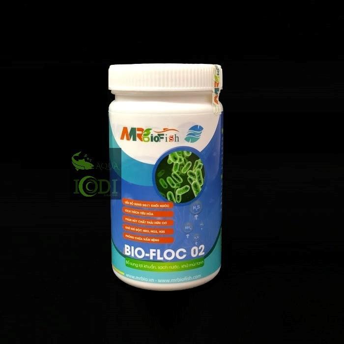 Mr Bio Fish - Men vi sinh xử lý nước bể cá dạng bột Bio Floc 02