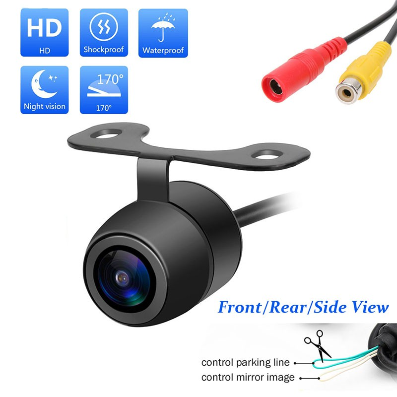 HD 170° CMOS Night Vision Car Rear View Reverse Backup Parking Camera