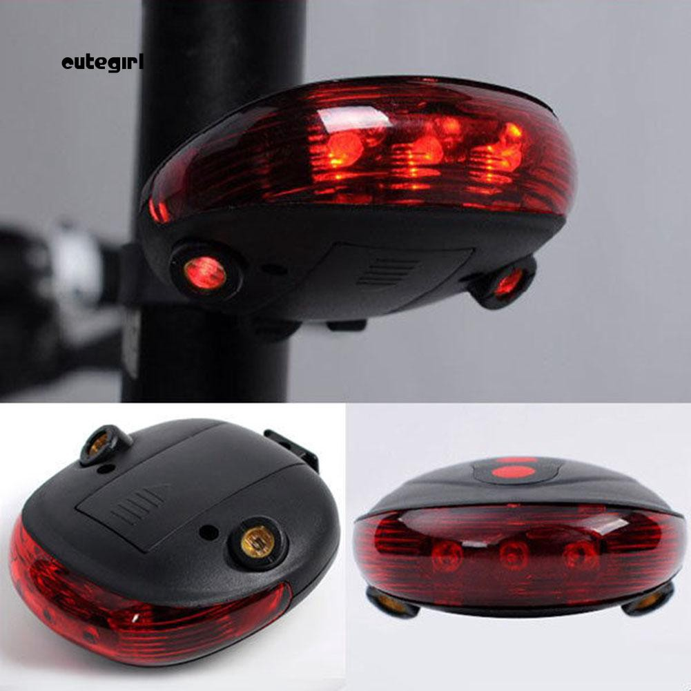Đèn LED báo tín hiệu gắn yên xe đạp leo núi tiện lợi