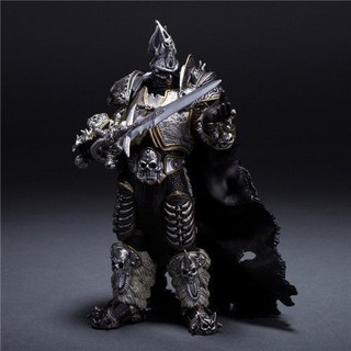 Mô hình Arthas Menethil The Lich King game WOW World Of Warcraft cao 7''