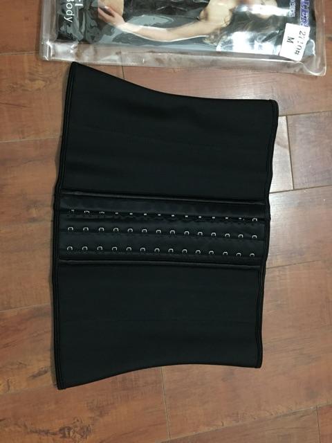 Đai nịt bụng latex  ❤️FREESHIP❤️ ĐAI NỊT BỤNG LATEX 9 XƯƠNG 25 CM, lưng thẳng eo thon | BigBuy360