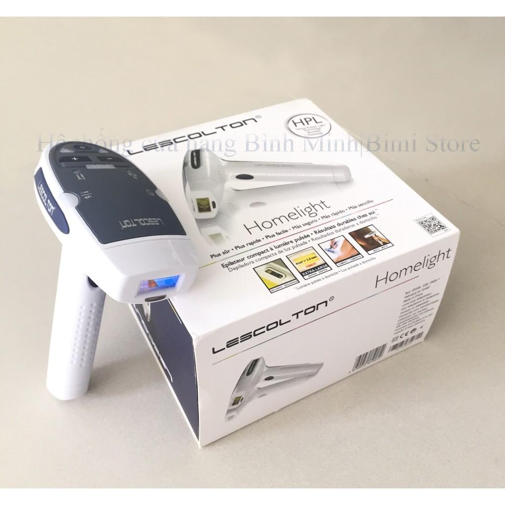 Bộ máy Máy triệt lông trẻ hóa da mini Lescolton T-006 tặng kem gel lạnh