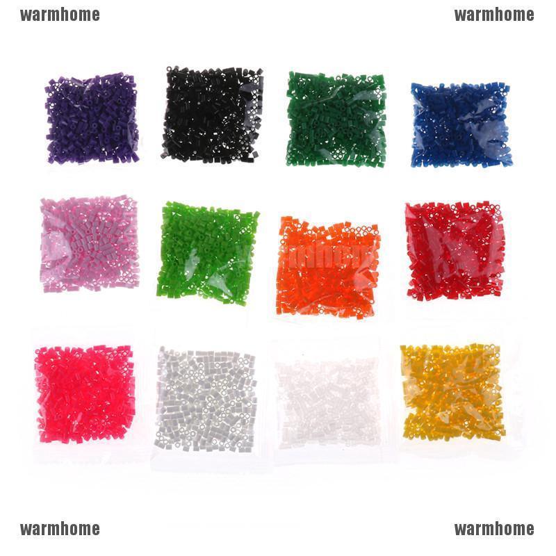 Túi 500 hạt xếp hình màu sắc cho bé yêu sáng tạo