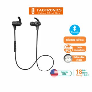 Tai Nghe TaoTronics Bluetooth 50, Thời Gian Chơi Nhạc 20 Giờ TT-BH067 thumbnail