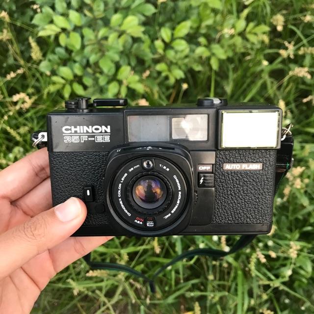 กล้องฟิล์ม Chinon 35f-EE auto flash ทำงานเต็มระบบ