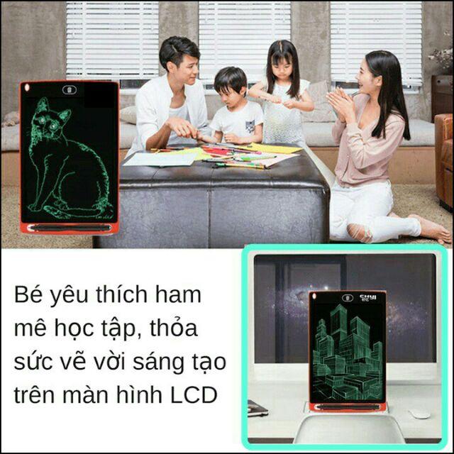 Bảng vẽ, viết điện tử, tự xóa thông minh màn hình LCD