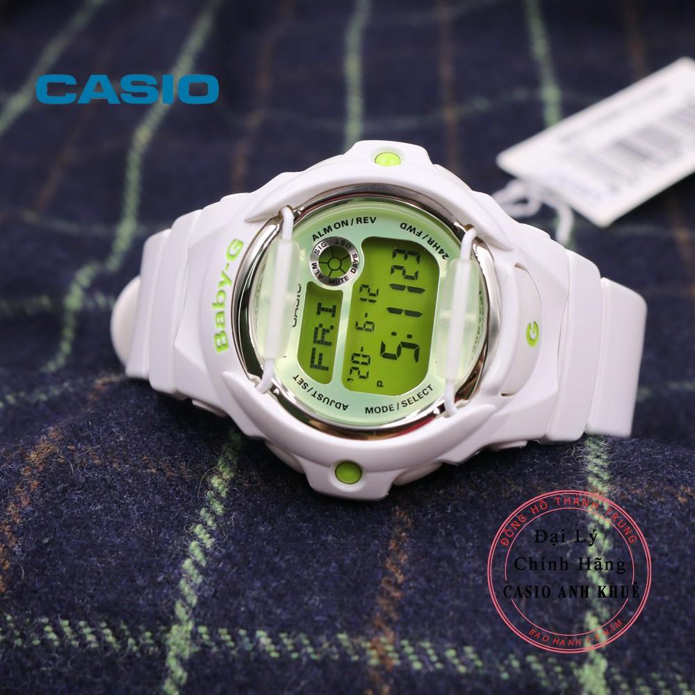 Đồng hồ nữ điện tử Casio BabyG BG-169R-7CDR dây nhựa