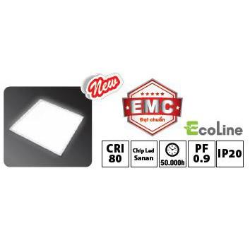 Đèn led panel âm trần 600x600 - 40W AP01E0666 (Ánh sángTrắng) Hiệu AC bảo hành chính hãng 24 tháng
