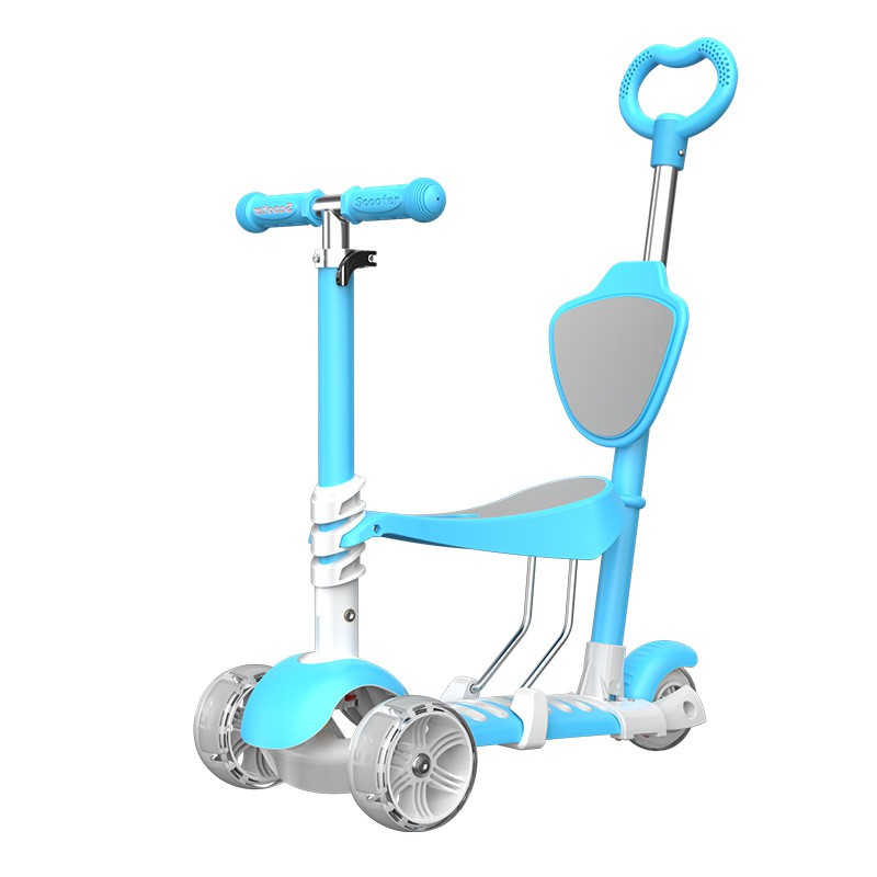 Xe Scooter 5 trong 1 Hàng Loại 1 cho trẻ em từ 1 đến 8 tuổi - Hàng chuẩn Chất...