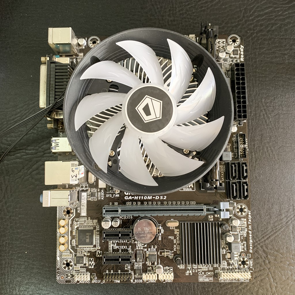 Quạt tản nhiệt chip CPU ID Cooling DK-03i RGB PWM - Led Aura RGB ( Intel 115x )