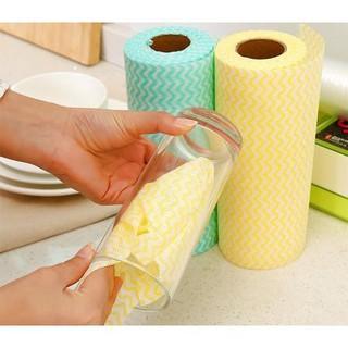 Cuộn khăn lau đa năng chống thấm dầu mỡ và các vết bẩn cực tiện lợi 1434 shop thời trang 7788 thumbnail