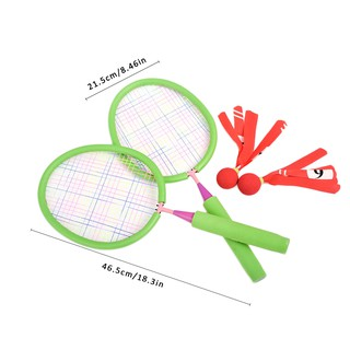 Children's Dedicated Battledore Baby Tennis Ball Outdoor Sport Kid Badminton Parent-child Toys