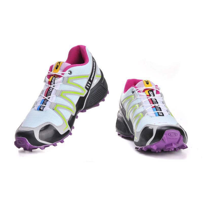 <BR> รองเท้าวิ่งจาก Salomon Speed Cross 3 CS Jade Green