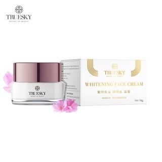 Kem dưỡng trắng da mặt Truesky nắp tím chính hãng 15g - Whitening Face Cream thumbnail
