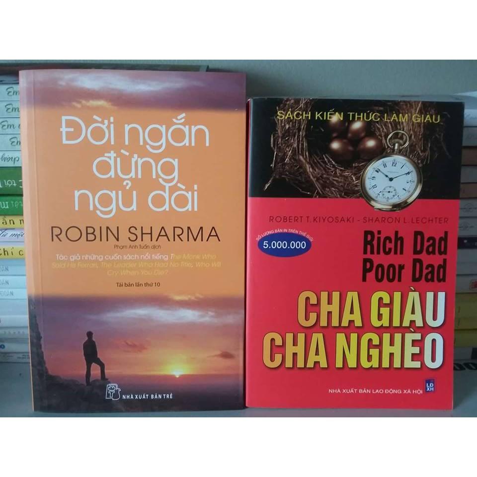 Sách - Combo 2 Cuốn: Cha Giàu Cha Nghèo + Đời Ngắn Đừng Ngủ Dài - 3484273 , 1060927509 , 322_1060927509 , 83000 , Sach-Combo-2-Cuon-Cha-Giau-Cha-Ngheo-Doi-Ngan-Dung-Ngu-Dai-322_1060927509 , shopee.vn , Sách - Combo 2 Cuốn: Cha Giàu Cha Nghèo + Đời Ngắn Đừng Ngủ Dài