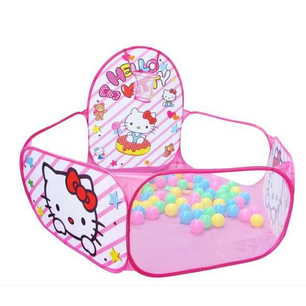 # Lều bóng hình thú kèm 200 bóng nhựa cho bé yêu #