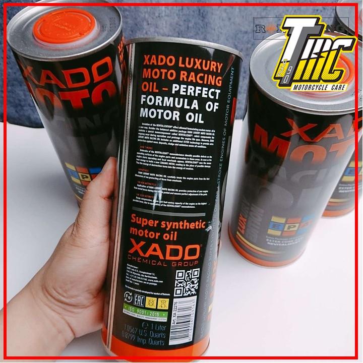 Nhớt XADO Moto Racing Oil Revitalizant 10w40
