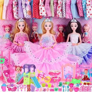 Bộ Đầm Cho Búp Bê Barbie