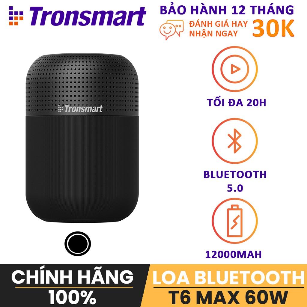 Loa không dây cao cấp Bluetooth 5.0 60W Tronsmart element T6 Max TM-3