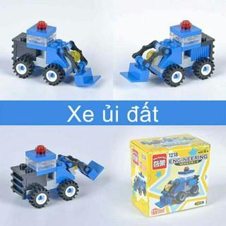 LEGO ENLIGHTEN 1218 – MÔ HÌNH XE ỦI ĐẤT- Đồ chơi an toàn