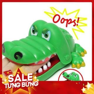 Bộ trò chơi cá sấu cắn tay *Loại Tốt*
