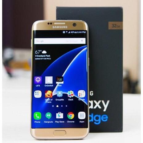 điện thoại Samsung Galaxy S7 Edge bản 2sim mới, CHÍNH HÃNG, bảo hành 12 tháng