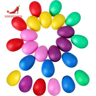 24 Pieces Egg Shaker Set Easter Eggs Maracas Eggs Musical Toys