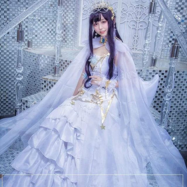 Costume Tomoyo clear card