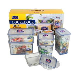 [LOCK&LOCK CHÍNH HÃNG] Bộ 6 hộp bảo quản thực phẩm LocknLock HPL818