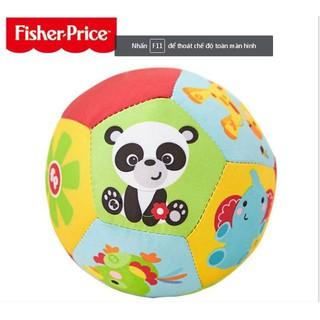 Bóng mềm Fisher Price- bóng vải lục lạc