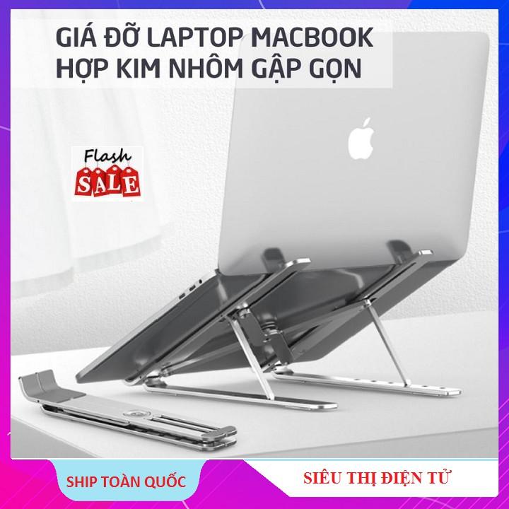 Giá đỡ Tản Nhiệt, Kệ Đỡ Dùng Cho Ipad - MacBook - Laptop Phụ Kiện Cao Cấp Hợp Kim Nhôm Thông Minh
