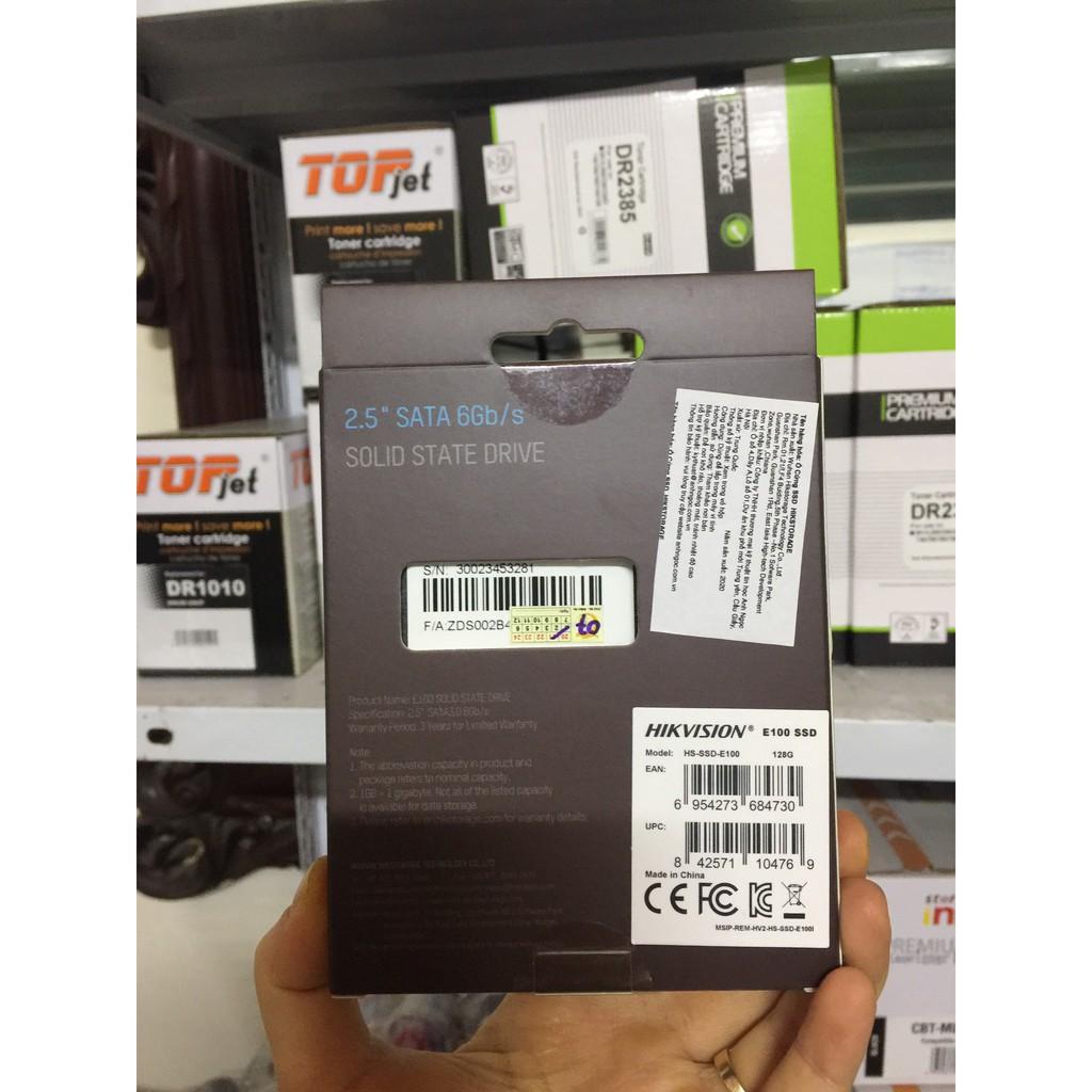 """Ổ Cứng SSD [RẺ VÔ ĐỊCH] Ổ cứng SSD Hikvison HS-SSD-E100 128GB 2.5"""" Sata III"""