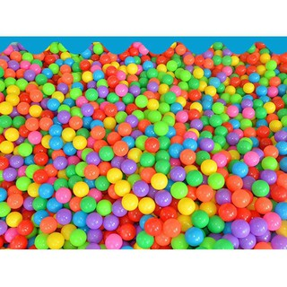 50pcs Ocean Ball Superior Toy Baby Kid Swim Fun Colorful Soft Plastic Ball