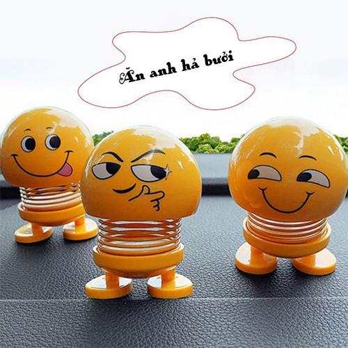 Set 6 con thú nhún Emoji ngẫu nhiên