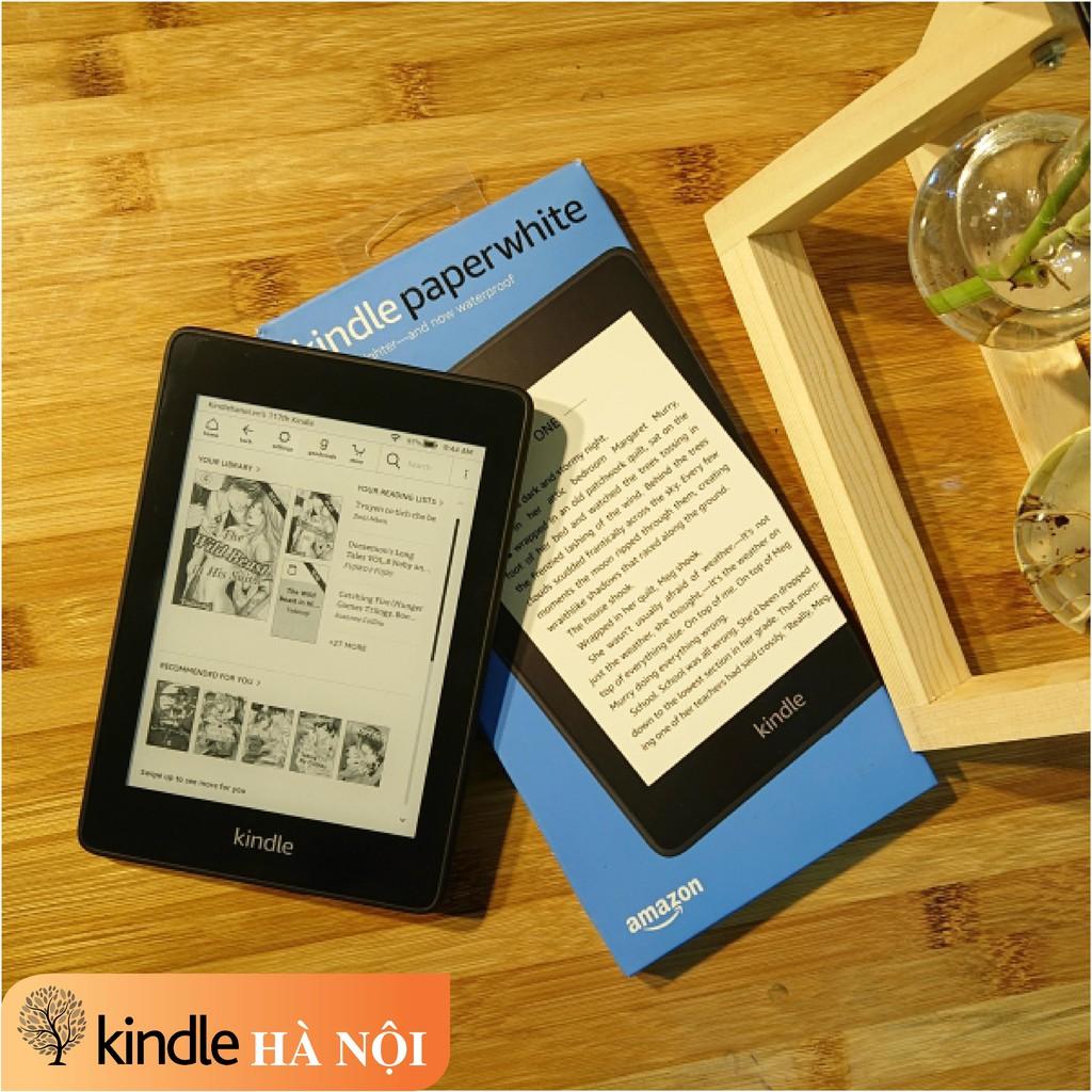 Máy đọc sách Kindle Paperwhite Gen 4 (10th), màn hình 6'' 300PPI, Darkmode, chống nước, audible, bộ nhớ 8-32GB