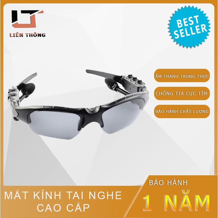 Mắt Kính Tai Nghe Kết Nối Bluetooth / Sản Phẩm Hot 2 Trong 1 Thiết Kế Phong Cách Cool Ngầu