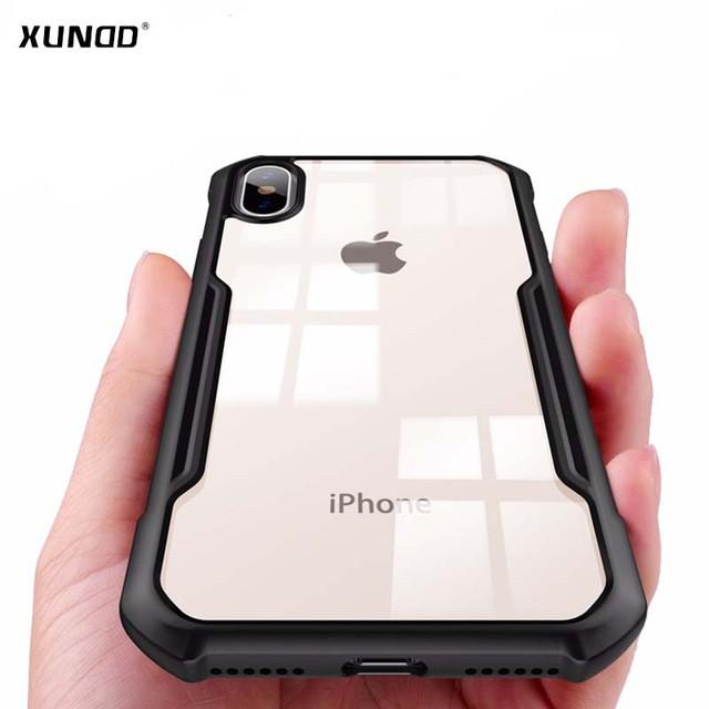 Ốp lưng chống sốc cao cấp XUNDD cho iPhone 6/ 6+/ 6s/ 6s+/ 7/ 7+/ 8/ 8+/ X/ Xs/ Xr/ Xs Max
