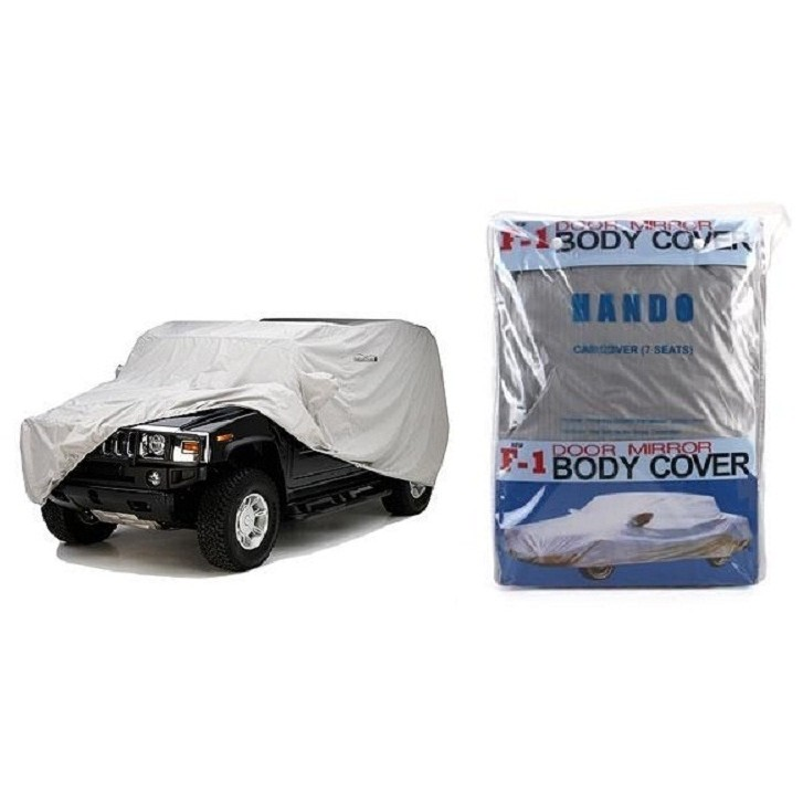 Bạt phủ xe ô tô 7 chỗ phản quang chống thấm cao cấp (Trắng bạc) - 2721013 , 324506460 , 322_324506460 , 501000 , Bat-phu-xe-o-to-7-cho-phan-quang-chong-tham-cao-cap-Trang-bac-322_324506460 , shopee.vn , Bạt phủ xe ô tô 7 chỗ phản quang chống thấm cao cấp (Trắng bạc)