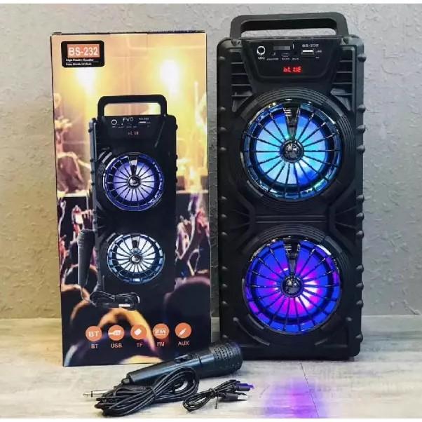 Loa kéo mini bluetooth Loa xách Bluetooth Speaker HY-10 ..1 mic DÂY