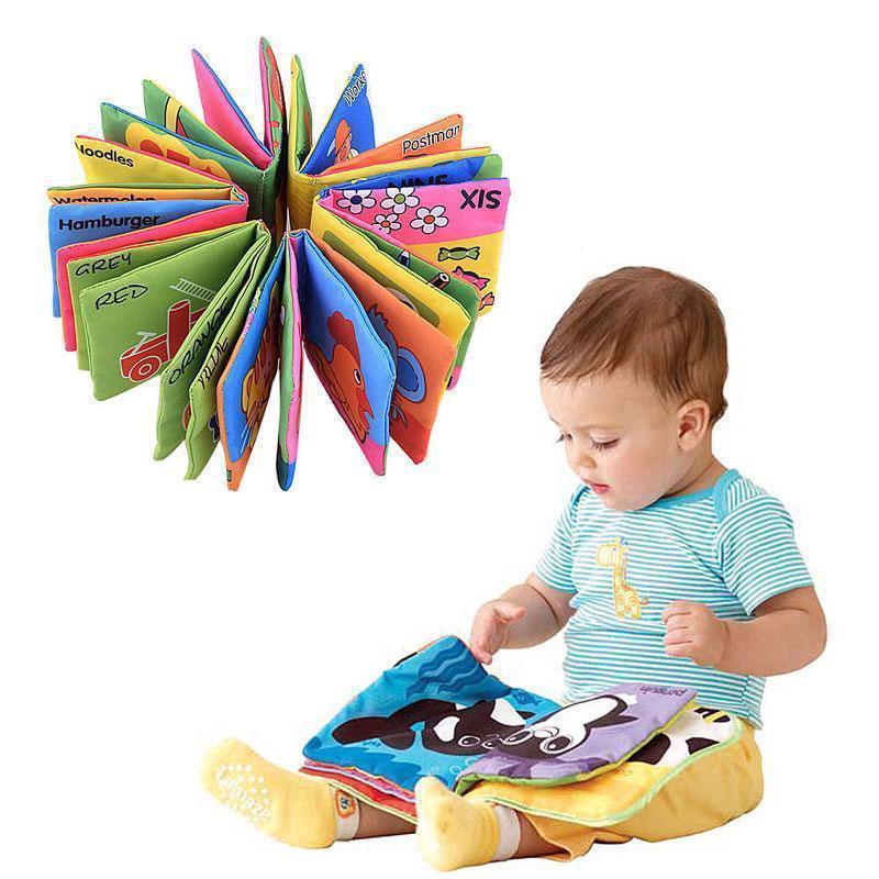 Sách vải thiết kế đẹp mắt xinh xắn cho trẻ em thumbnail