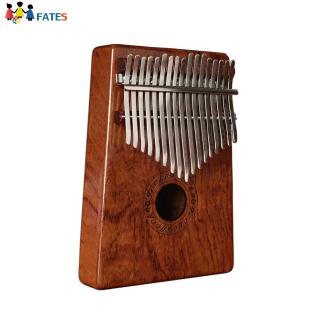17 Keys Kalimba Rosewood Portable Thumb Piano with Box Bag Tuner Hammer Musical Instruments