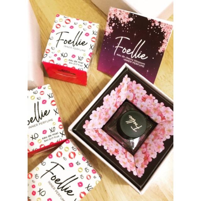 Nước hoa vùng kín Foellie Eau De Innerb Perfume Bijou thắt nơ làm quà tặng