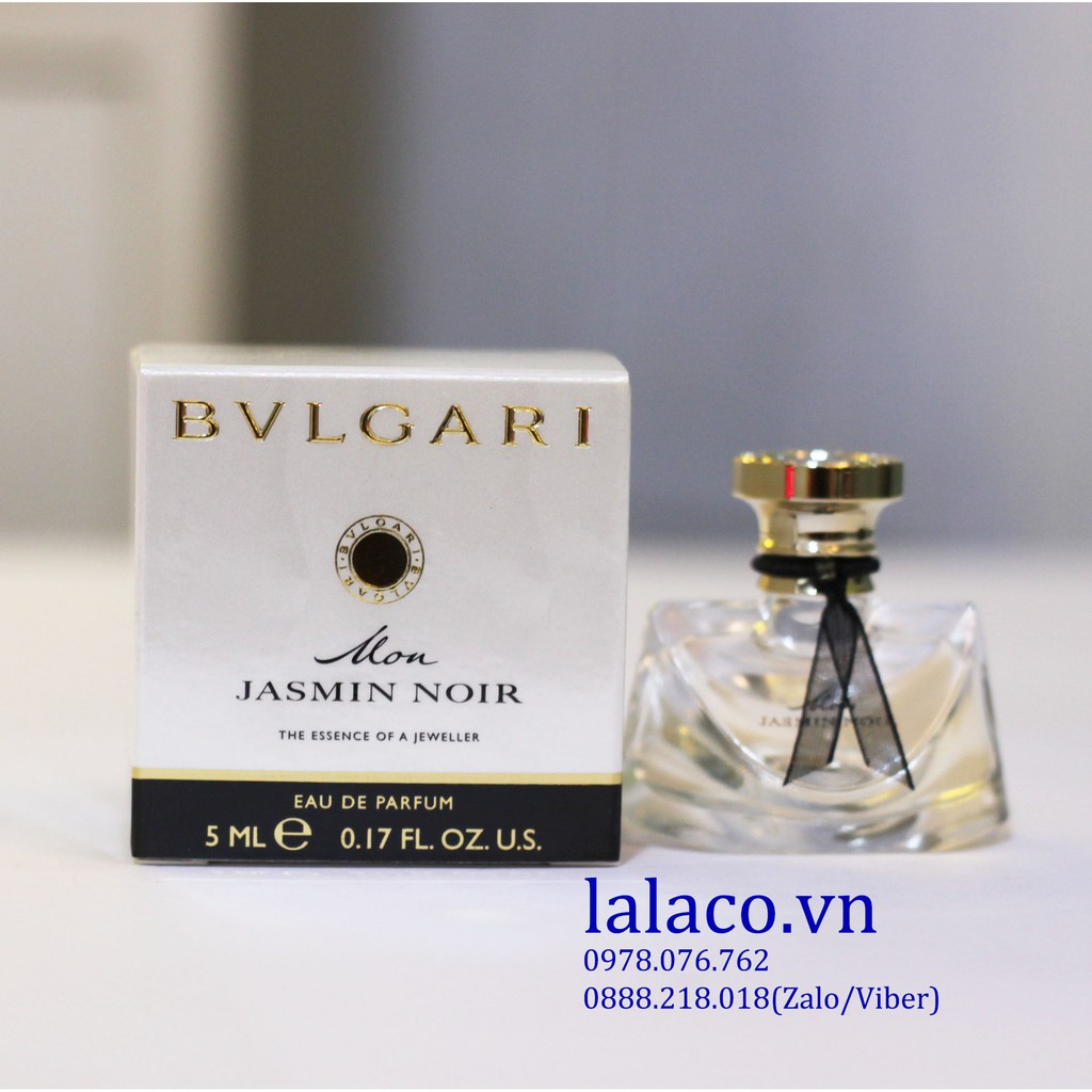 Nước hoa mini Bvlgari Mon Jasmin Noir EDP 5ml