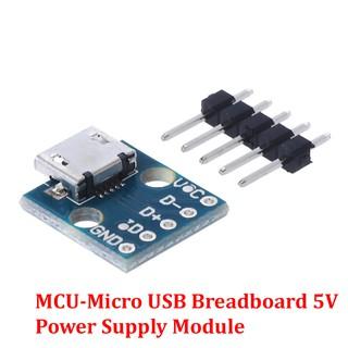 Mạch Ra Chân (hàn) Cổng Micro USB (MCU-Micro USB to DIP 5Pin)