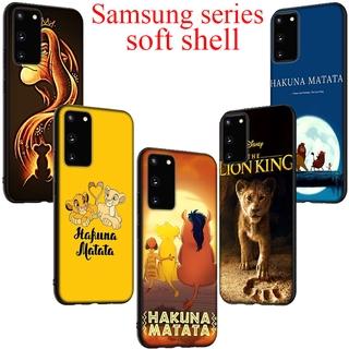 Ốp Lưng Silicon Mềm In Hình Vua Sư Tử Cá Tính Cho Samsung A3 A5 A7 A8 A9 A6 Plus J6 2018