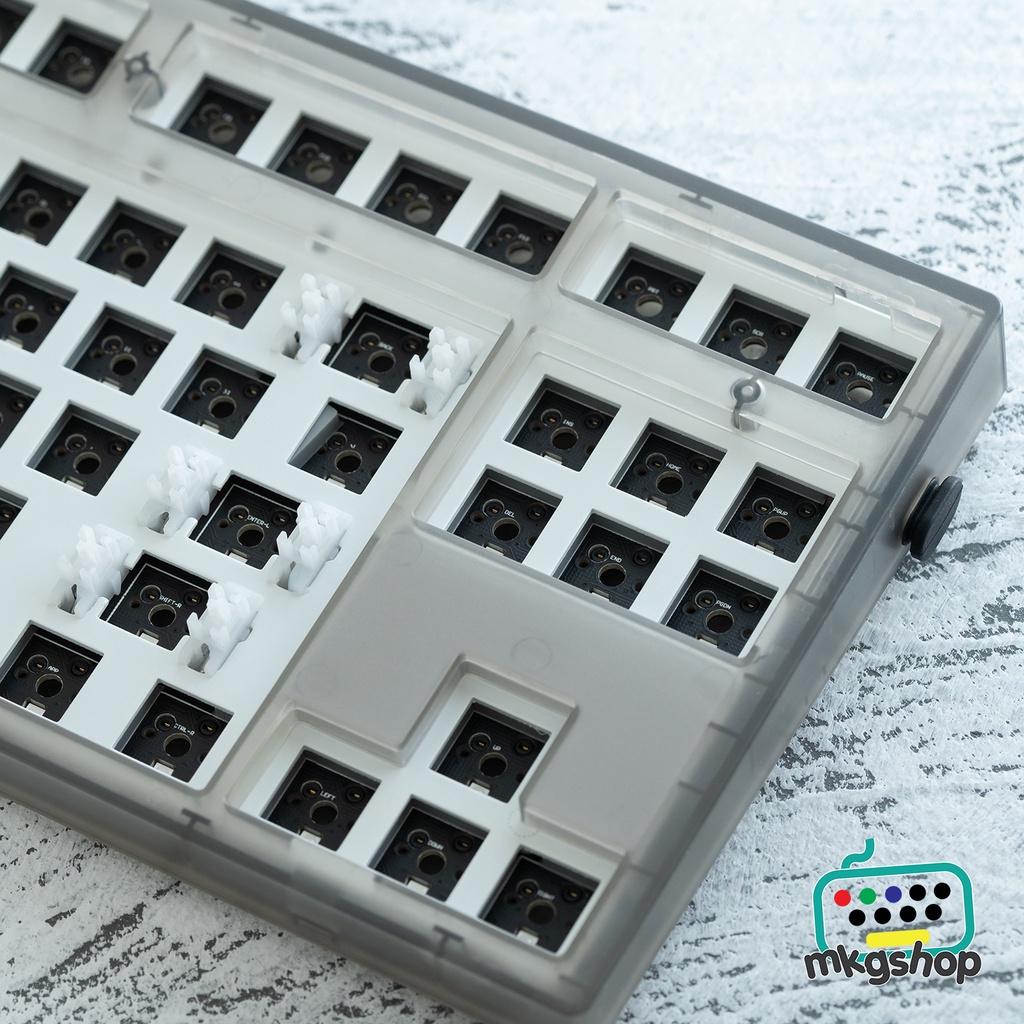 [Mã 1510ELSALE hoàn 7% đơn 300K] Kit bàn phím MK870 hot swap xuôi, RGB, typeC