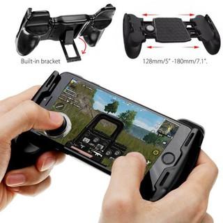 Tay cầm chơi game 5 trong 1 PUBG, ROS, Free Fire , Fifa trên điện thoại tiện lợi vô cùng
