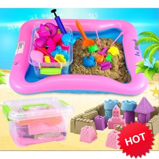 [CỰC RẺ] Bộ đồ chơi tạo hình cát động lực cho bé