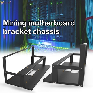 TCXL. Mining Case Rack Motherboard Bracket Open Mining Rig Frame ETH/ETC/ZEC Ether Accessories Tools for 6-8 GPU Rack Only